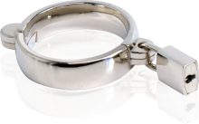 """Give """"precious metals"""" a whole new meaning with this luxurious metal cockring. Cast in high quality steel and hand-polished to perfection,"""
