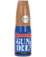 Fortified with Aloe Vera, Gun Oil H2O provides extra moisture and is gentle on your skin. Gun Oil H20 provides extra moisture and is gentle on your skin. Gun Oil H20 is Glycerin-free for added health benefits and is also flavor-free, scent-free and pigment-free for guaranteed satisfaction