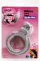 Rubber Ankle Cuffs (Silver)